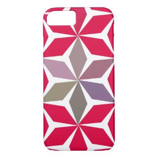 Geometry & flowers iPhone 7 case