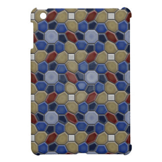 Geometry in blue iPad Mini Case
