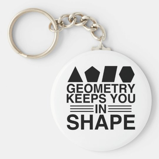 Geometry Keeps you in Shape Math Pun Joke