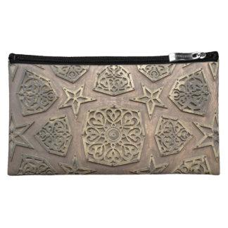 'Geometry metal work' bag Cosmetics Bags