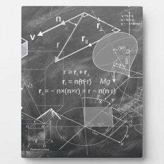 Geometry Photo Plaque