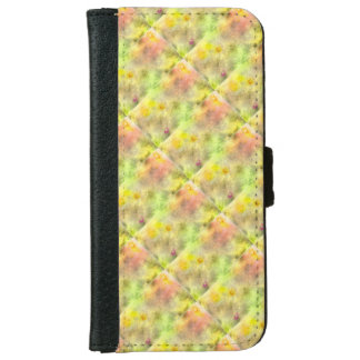 geometry repeat abstract bright pastel tone iPhone 6 wallet case