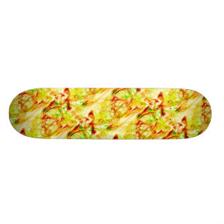 geometry repeat abstract bright pastel tone skate decks