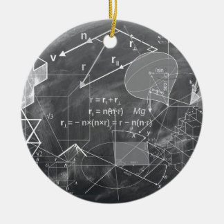 Geometry Round Ceramic Decoration