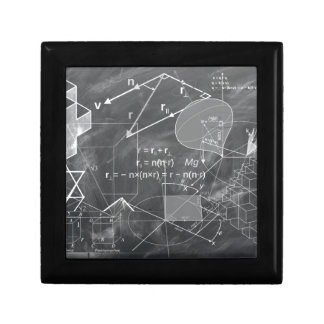 Geometry Small Square Gift Box