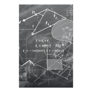 Geometry Stationery Paper