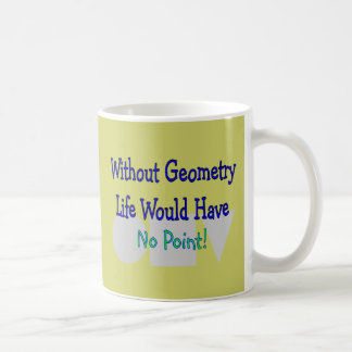 Geometry Teacher Gifts Mugs