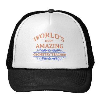 Geometry Teacher Hat