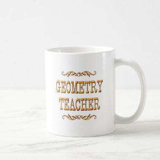 Geometry Teacher Coffee Mugs