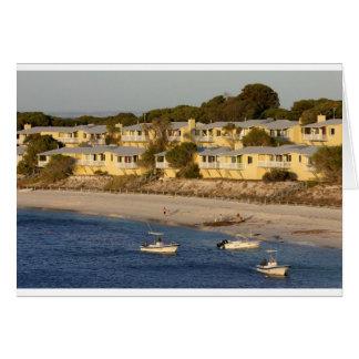 Geordie Bay on Rottnest Island, Western Australia Greeting Card