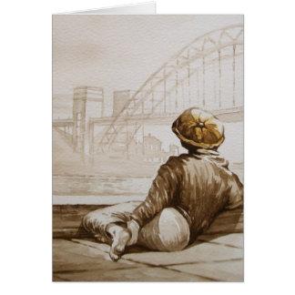 Geordie Daydream Card