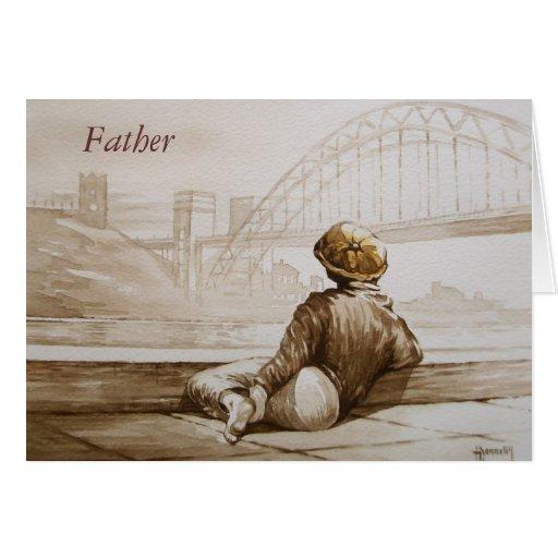 Geordie Daydream Father Card