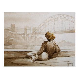 Geordie Daydream Post Card