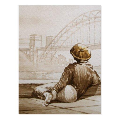 Geordie Daydream Postcard