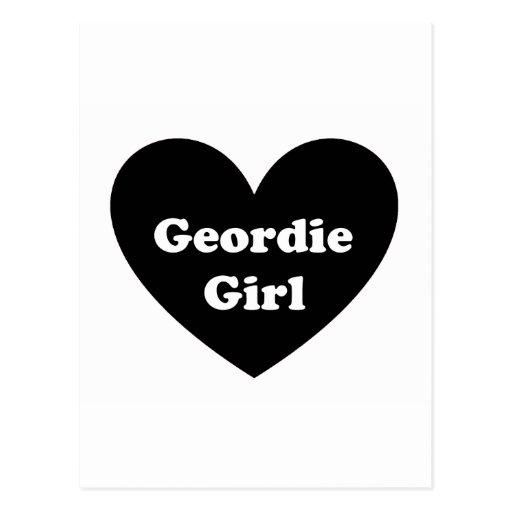 Geordie Girl Post Cards