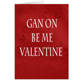 Geordie Modern Valentine Card - Valentine s Day