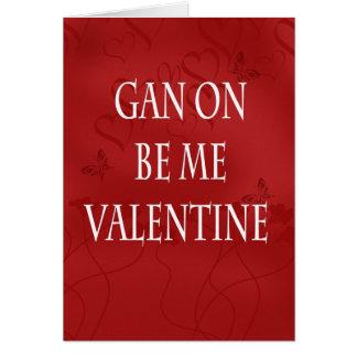 Geordie Modern Valentine Card - Valentine's Day
