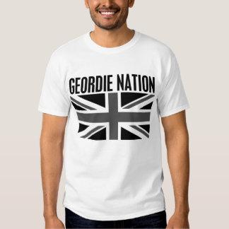 Geordie Nation B/W Tshirt