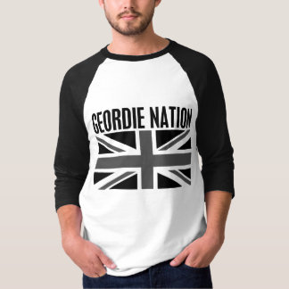 Geordie Nation BW T-Shirt