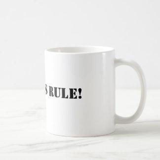 Geordies rule coffee mug