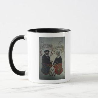 Georg Fugger his wife Regina Imhoff, 'Geheim Mug