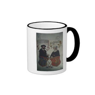 Georg Fugger his wife Regina Imhoff, 'Geheim Coffee Mugs