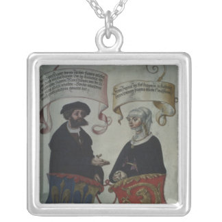 Georg Fugger his wife Regina Imhoff, 'Geheim Silver Plated Necklace