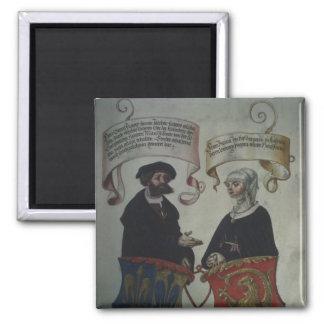 Georg Fugger his wife Regina Imhoff, 'Geheim Square Magnet