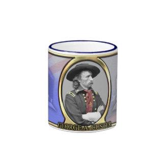 George A. Custer Civil War Coffee Mugs