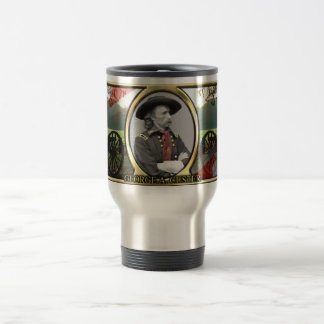 George A. Custer Civil War Travel Mug