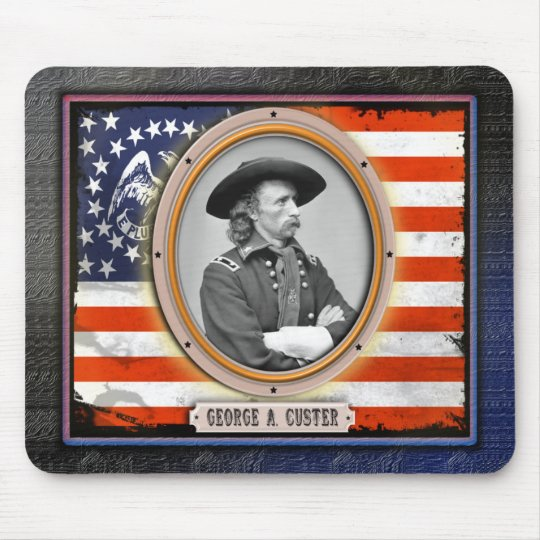 George A. Custer Mousepad