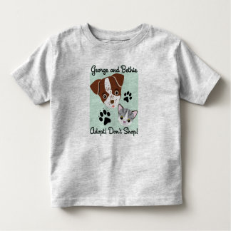 George and Bethie: Adopt! Don't Shop! Shirts