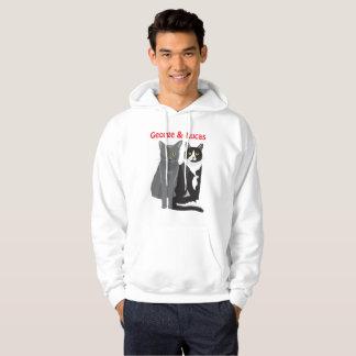 George and Lucas hoodie