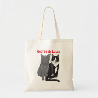 George and Lucas tote bag