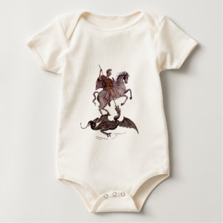 GEORGE AND THE DRAGON BABY BODYSUIT