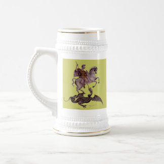 GEORGE AND THE DRAGON BEER STEIN