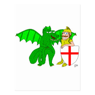 George and the Dragon Postcard