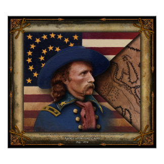 George Armstrong Custer Poster