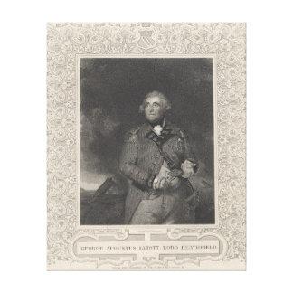 George Augustus Eliott, 1st Baron Heathfield Canvas Print