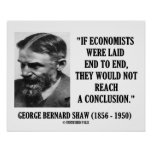 George B. Shaw If Economists Laid Not Conclusion