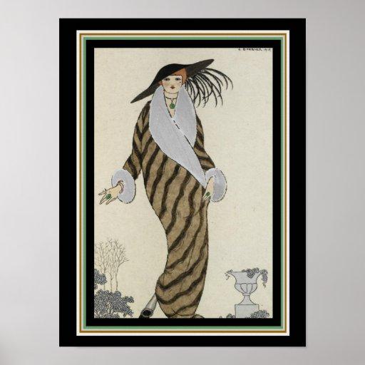 George Barbier Art Deco Fashion Poster 12 x