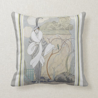 George Barbier Art Deco Throw Pillow