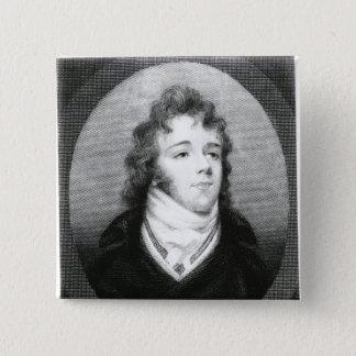George 'Beau' Brummel 15 Cm Square Badge