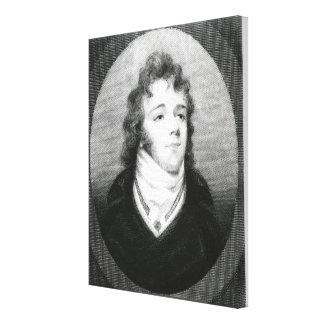 George 'Beau' Brummel Canvas Print