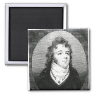 George 'Beau' Brummel Square Magnet