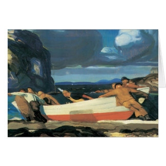 George Bellows The Big Dory Card