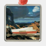 George Bellows The Big Dory Christmas Tree Ornament