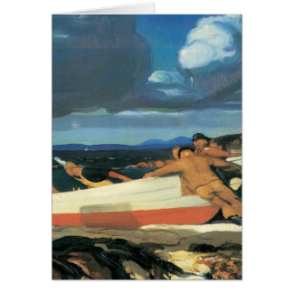 George Bellows The Big Dory Greeting Card
