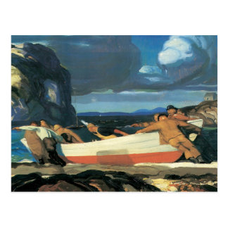 George Bellows The Big Dory Postcard