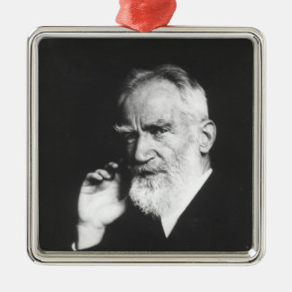 George Bernard Shaw Christmas Ornament